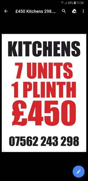 KITCHEN 7 UNITS £450