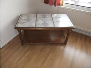 Wooden two tier coffee table in Bristol