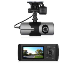 HD Car BlackBox DVR with Dual Cameras GPS G-Sensor