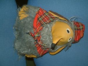 Womble from the 's Dressed as one of the Scottish Cousins. Good clean condition,