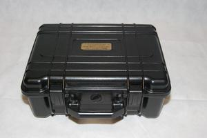Camera case. Hard plastic - very secure with inserts.