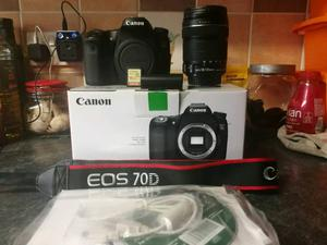 Canon 70D low shutter count and mm stm lens