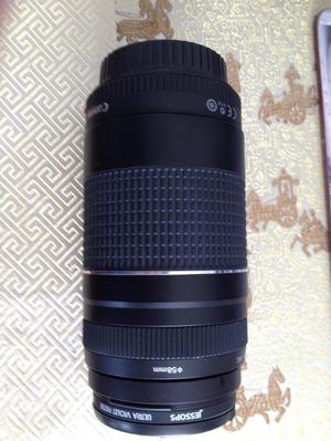 Canon EOS500D camera and mm zoom lens