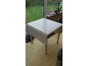 Kitchen Dining Table With Collapsible Wings in Southsea