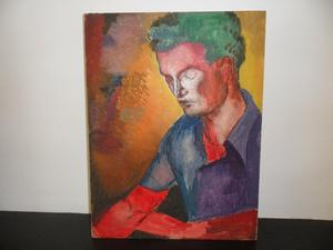 Portrait of a Young Man with Green Hair - c.s