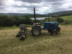 tractor mounted lawn mower