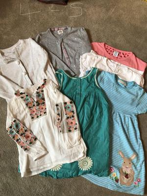 Age 4 to 5 girls bundle of Pre loved beautiful cloth