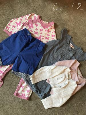 Beautiful Bundle of 6-12 months girls clothes