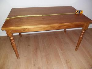 Beautiful Solid pine antique dining table.