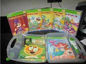 LEAPFROG TAG READING SYSTEM PLUS MAGIC PEN AND CARRY CASE in