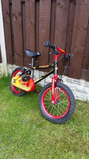 "Boys 14"" bike in excellent condition can deliver"
