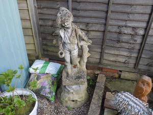Garden Ornaments and Bird Bath
