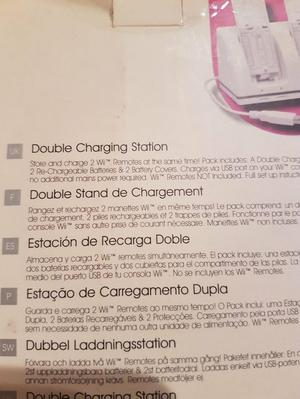 Wii charger - Double for remote control unit