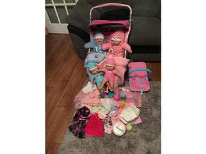 Large dolls bundle all in excellent condition in Southampton