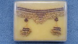 Womens Choker & Ear Rings, Great condition, Box included, Contact me soon as, Cheap price at £2