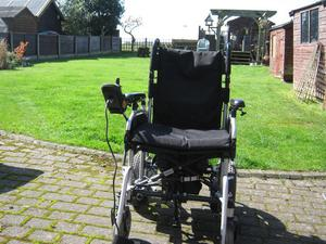 Pride LX Electric Power Chair,hardly used,new battery
