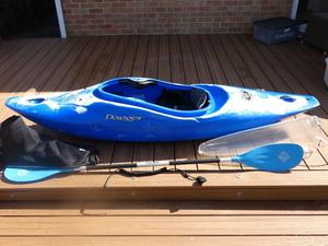 Dagger GT 7.8 Action Kayak and accessories.