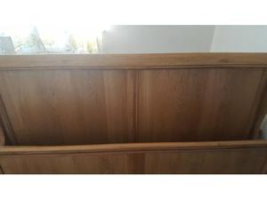 Super King Solid Light Oak Sleigh Bed in Cardiff
