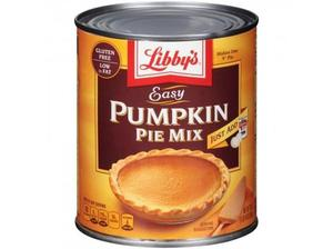 Libby's Easy Pumpkin Pie Mix 850g (30oz) - American Import
