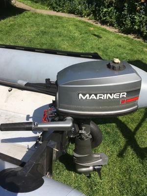 Mariner 5hp Outboard Engine (5M) £450