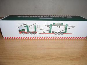 OXFORD DIECAST SCANIA EVO 6 CAR TRANSPORTER