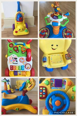 Variety of vtech/ fisher price toys for sale various prices