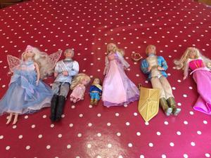 Collection of Princess Barbie & Prince Ken Doll's - 7
