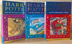 3 Harry Potter Celebration First Editions