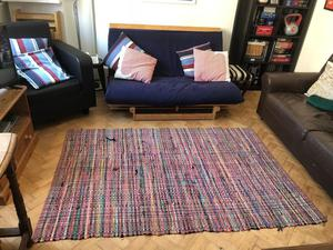 Colourful Rug 180cm x 120cm