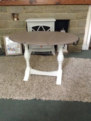 Foldable Wooden Side Table