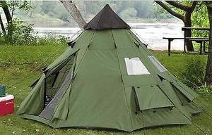 Large Teepee Tent (Festivals / Glamping / Camping)