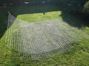 Wire fencing 6ft approximately 20 feet
