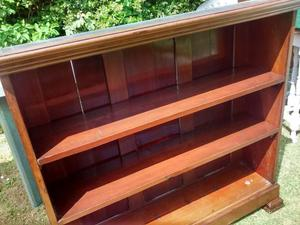 Antique Mahogany Bookcase Bookshelves