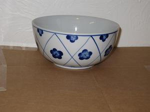 Blue & White China/Ceramic Bowl