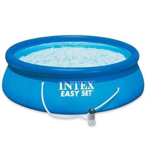 10ft x 30in Easy Set Pool with Filter Pump