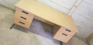 2 Office Desks/ Table with Drawers Can Deliver for £10 Locally