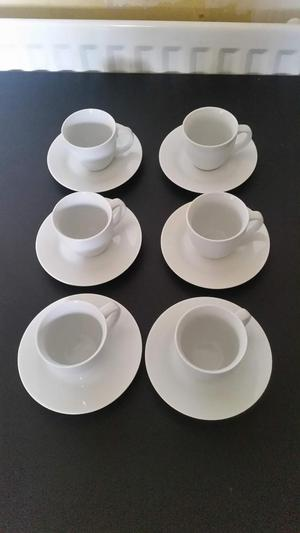 French Porcelain Tea Cups