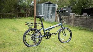 Mandrin Foldable Bicycle with Shimano gears - Great Condition