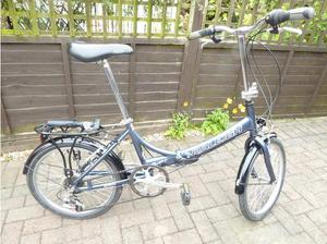Folding Raleigh Swift bicycle in Gloucester