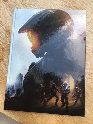 Halo 5 Guardians strategy guide collector's edition