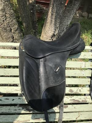 """Isabell Werth 17"""" saddle"""