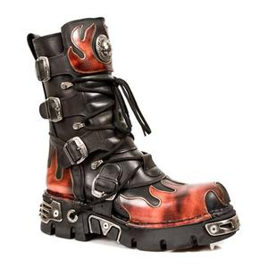 New Rock Reactor Flame Boots