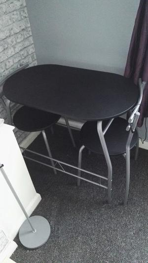 Table two chairs