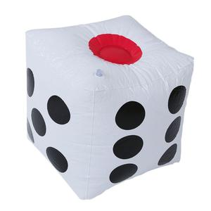 32cm Inflatable Blow Up Cube Dice Casino Poker Party