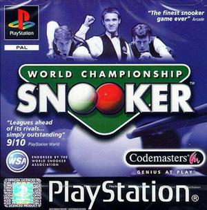 World Championship Snooker ps1 game