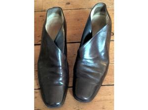 Da Vinci Italian women's vintage leather shoes - size 6 in