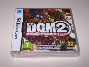 DQM2 DRAGON QUEST MONSTERS Nintendo DS - UK PAL - NEW