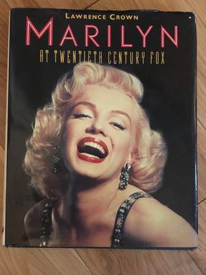 Marilyn hardback - used in as new condition