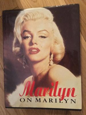 Marilyn on Marilyn hardback - used in as new condition