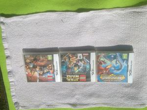 Star Wars + Lord of the Rings + Dragons - Three Nintendo DS games